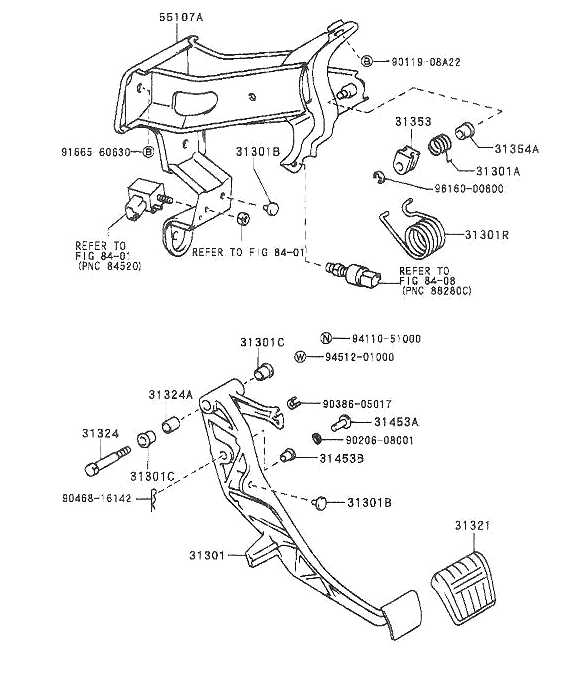 clutch pedal  brake pedal and other in cabin options
