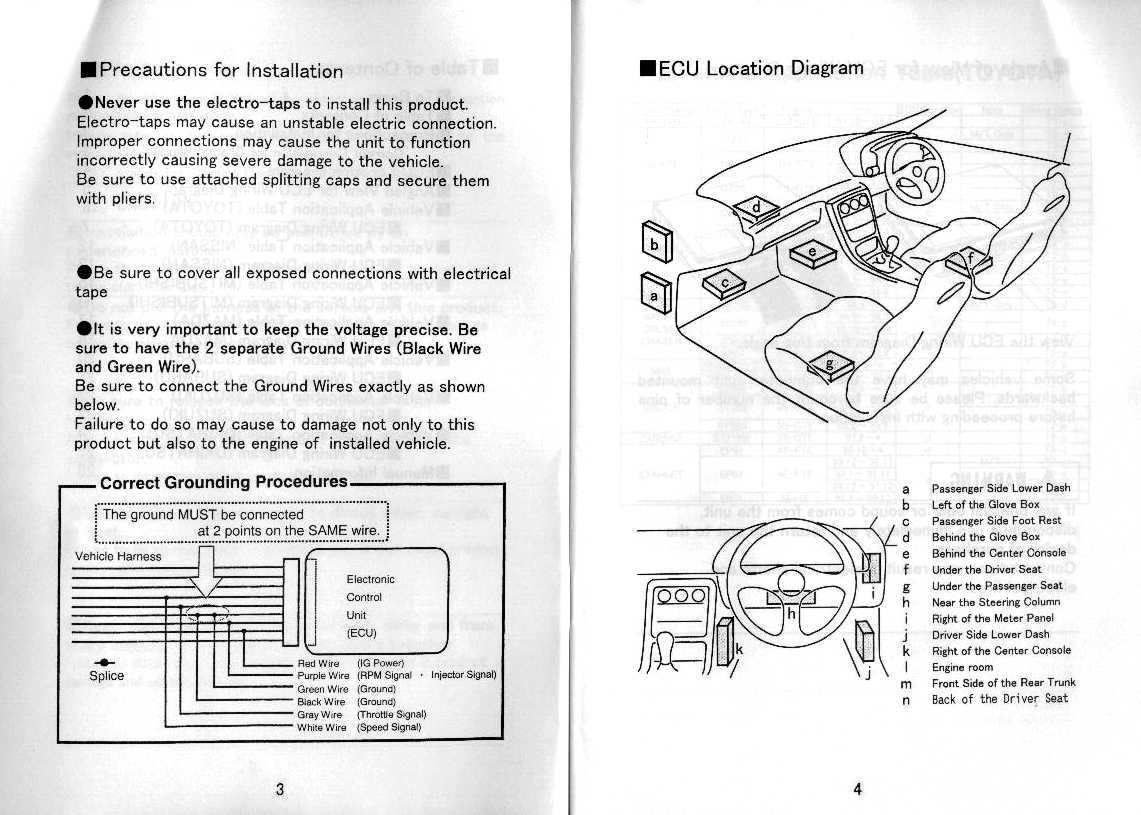 Apexi Turbo Timer Instruction Manual Wiring Diagram