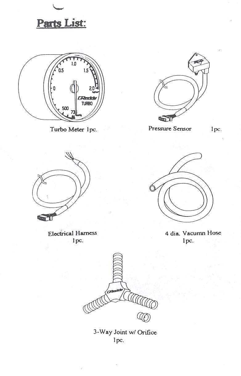 turbo_guage_02 greddy 52mm boost gauge mkiv com prosport boost gauge wiring diagram at bayanpartner.co
