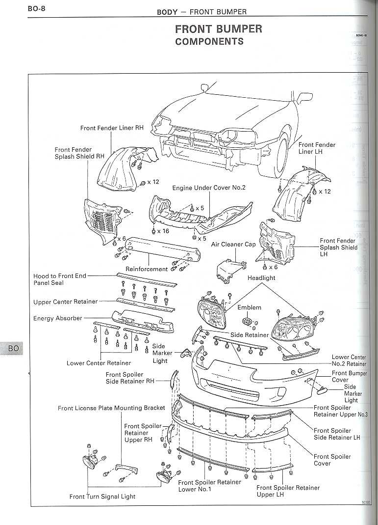 Toyota Supra Front End Diagram Electrical Wiring Diagrams Engine Need Pics Of The 1991 Camry Suspension